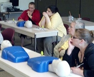 CPR Training in Spanish